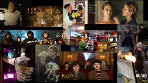 My Top Films of 2011 Wallpaper - Now with Titles! by fmonkay678