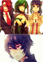 C O M M : Vance |Dolli |Perry | Ritsuka by Neire-X