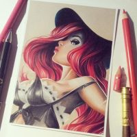 'Fortune doesn't favor fools' - Miss Fortune by Josilix
