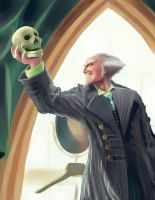 Jim Carrey as Count Olaf by Eloth