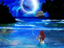 Blue Moon by Deena-Lee-Sauve