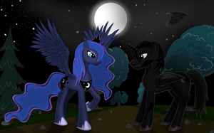 Luna and Ravenshade? by Ravenshade666