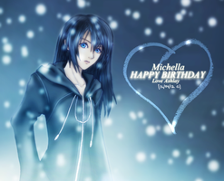 Xion - Long Hair (For Michelle) by Avidityy