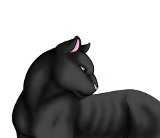Commission: Panther by kijonaia