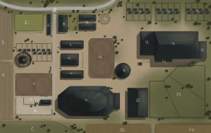Double W ranch - Map by Wakimi