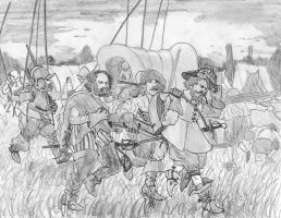 Breathing Tilly's breath, near Heck, August 6 1623 by FritzVicari