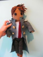 Captain Jack Harkness Plush by caseyhoke
