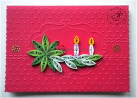 Quilling - card 108 by Eti-chan