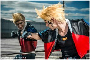 Mirror Fight - Zell Dincht Cosplay by Leon Chiro by LeonChiroCosplayArt