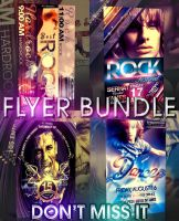 PSD Bestrock Flyer Pack by retinathemes