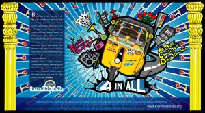 autorickshaw print ad by prasadesign