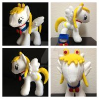 MLP Plushie Contest Sailor Moon by Aleeart7