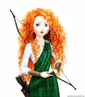 Merida the Brave by Develv