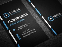 Neat Corporate Business Card by nazdrag