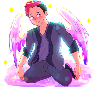 Angel mark by LovelyArtist1234