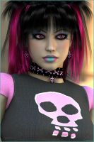 Gothic Pink by akulla3D