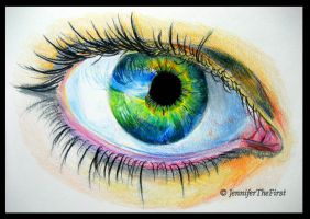 Eye: Object of Fascination by JenniferTheFirst