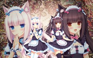Chocola and Vanilla Maid 2 by Seira-Hirano