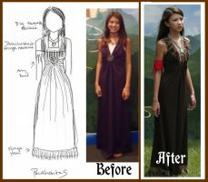 Pocahontas Costume Alteration by Durnesque