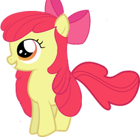 Applebloom  Hairstyle Equestria Girls by ThisBrokenBrain
