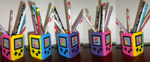GBC Pencil Holder by Tiffyx