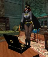 Steampunk Batgirl: Entangled 01 by EthereaS