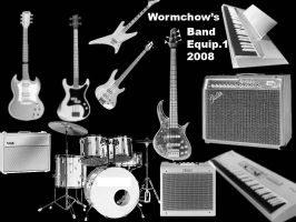 band-equipment-wormchow by Wormchow