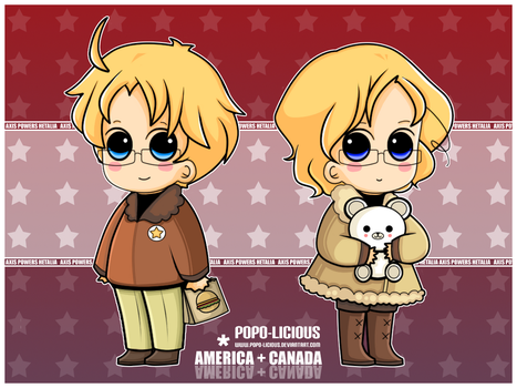 APH - America and Canada by Popo-Licious