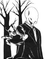 SlenderMan by bobveon
