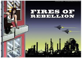 On a Ledge: Fires Of Rebellion by Cronoman66