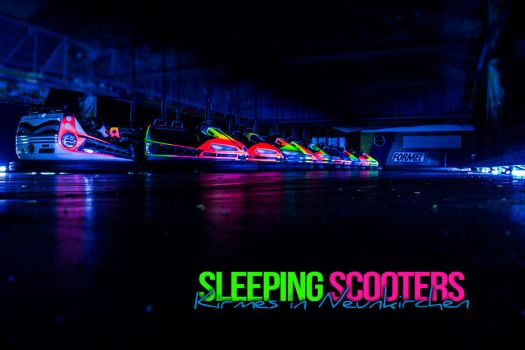 Sleeping Scooters by evilshortY