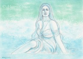 Born from the Ocean - sketch by MayumiOgihara