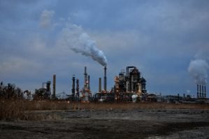 Oil Refinery by FairieGoodMother