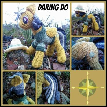 Daring Do - My Little Pony Plushies by VelvetKey