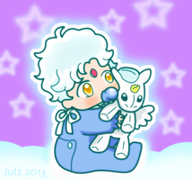 Baby Helios by milky-tales