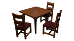 Dining Table and Chairs WIP by Under-Raggz
