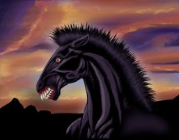 Carnivore Horse by Undeadgoth
