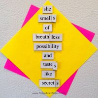 The Daily Magnet #114 by FridgePoetProject
