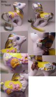 Binky custom pony by Woosie