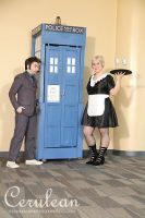Doctor Who Photoshoot: Astrid and The Doctor by StrangeStuffStudios