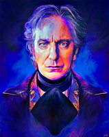 Alan Rickman by NickyBarkla
