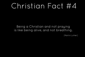 Christian fact 4 by StandAndStare