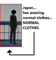 Japan, Wearing Normal Clothes XD by ThePrussianFlag