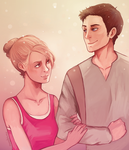 Nate and Elena by missxdelaney