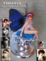 ooak clara bow fairy porrait 2 by fairiesndreams