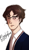 LesMis: modern Combeferre by SarlyneART