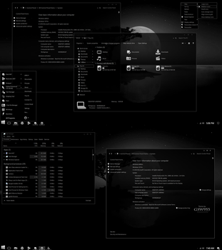 Consolidated Dark for Windows10 Anniversary Update by gsw953onDA