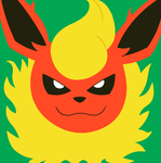 Flareon icon by KevinAF123