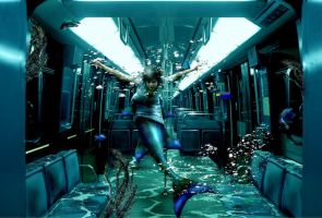 Metro Mermaid by mistysteel