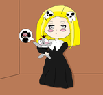 lenore and ragamuffin by scarymovie13